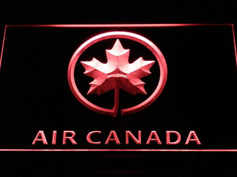 Image of Air Canada LED Neon Sign - Red - SafeSpecial