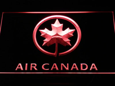 Air Canada LED Neon Sign - Red - SafeSpecial