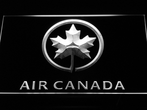 Image of Air Canada LED Neon Sign - White - SafeSpecial