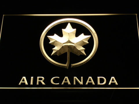 Air Canada LED Neon Sign - Yellow - SafeSpecial