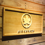 Air Canada Wooden Sign - - SafeSpecial