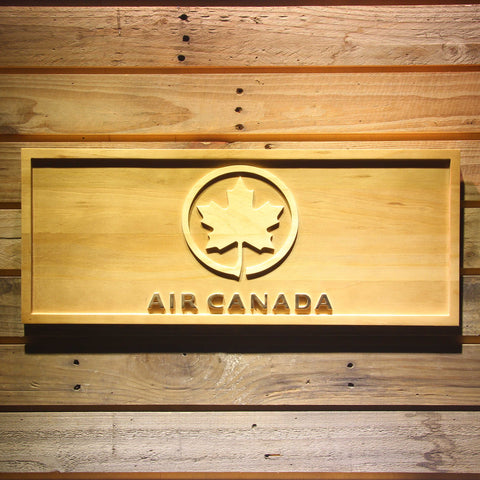 Image of Air Canada Wooden Sign - Small - SafeSpecial
