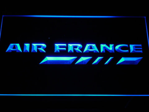 Air France LED Neon Sign - Blue - SafeSpecial
