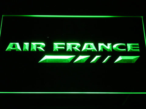 Air France LED Neon Sign - Green - SafeSpecial