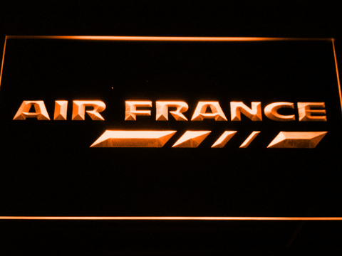 Image of Air France LED Neon Sign - Orange - SafeSpecial