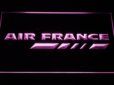Image of Air France LED Neon Sign - Purple - SafeSpecial
