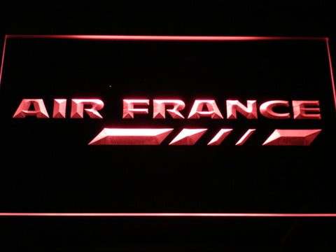 Image of Air France LED Neon Sign - Red - SafeSpecial