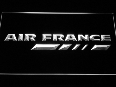 Image of Air France LED Neon Sign - White - SafeSpecial