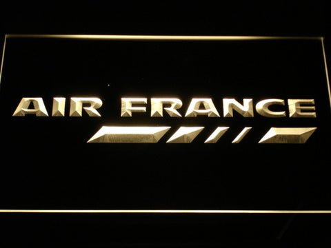 Image of Air France LED Neon Sign - Yellow - SafeSpecial