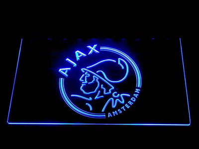 Ajax LED Neon Sign - Blue - SafeSpecial