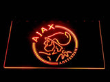 Ajax LED Neon Sign - Orange - SafeSpecial
