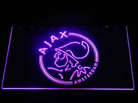 Image of Ajax LED Neon Sign - Purple - SafeSpecial