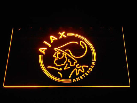 Image of Ajax LED Neon Sign - Yellow - SafeSpecial