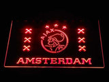 Ajax Logo 2 LED Neon Sign - Red - SafeSpecial