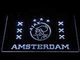Ajax Logo 2 LED Neon Sign - White - SafeSpecial