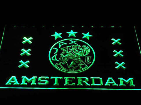 Image of Ajax Logo LED Neon Sign - Green - SafeSpecial