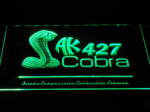 Image of AK 427 Cobra LED Neon Sign - Green - SafeSpecial