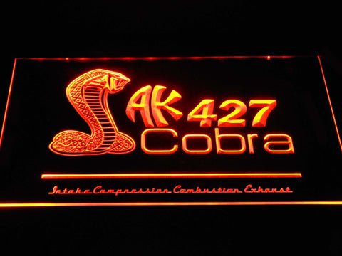 Image of AK 427 Cobra LED Neon Sign - Orange - SafeSpecial