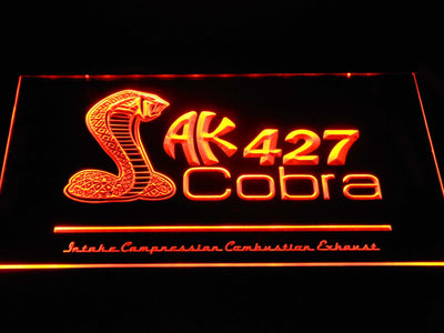 AK 427 Cobra LED Neon Sign - Orange - SafeSpecial