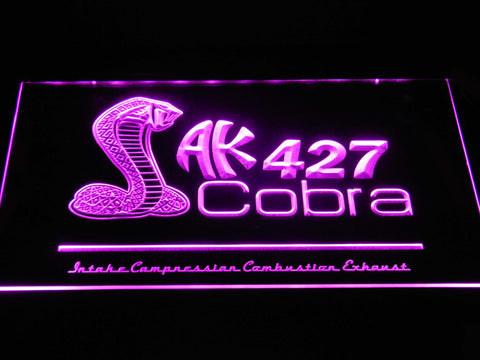 AK 427 Cobra LED Neon Sign - Purple - SafeSpecial