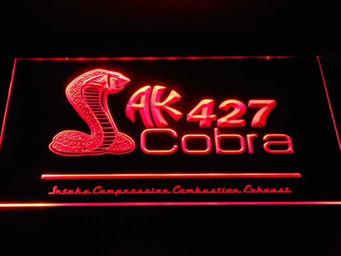 Image of AK 427 Cobra LED Neon Sign - Red - SafeSpecial