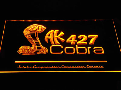 AK 427 Cobra LED Neon Sign - Yellow - SafeSpecial