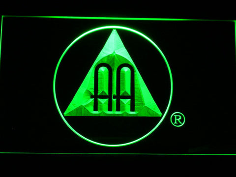 Alcoholics Anonymous AA Logo LED Neon Sign - Green - SafeSpecial