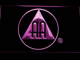 Alcoholics Anonymous AA Logo LED Neon Sign - Purple - SafeSpecial
