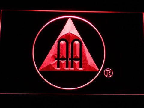 Alcoholics Anonymous AA Logo LED Neon Sign - Red - SafeSpecial