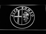Alfa Romeo LED Neon Sign - White - SafeSpecial