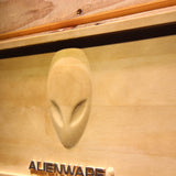 Alienware Wooden Sign - - SafeSpecial