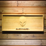 Alienware Wooden Sign - Small - SafeSpecial
