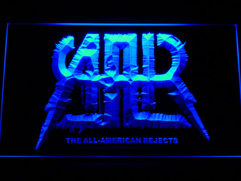 All-American Rejects LED Neon Sign - Blue - SafeSpecial