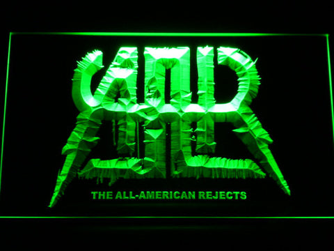 All-American Rejects LED Neon Sign - Green - SafeSpecial