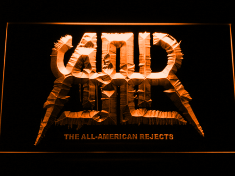 All-American Rejects LED Neon Sign - Orange - SafeSpecial