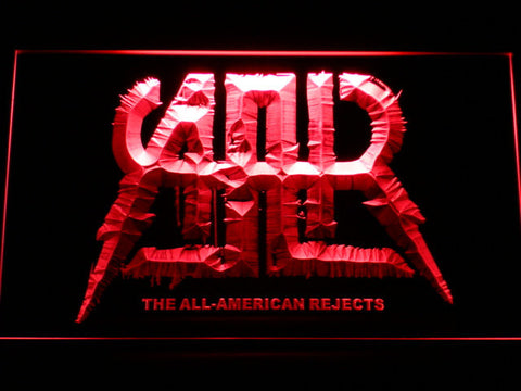All-American Rejects LED Neon Sign - Red - SafeSpecial