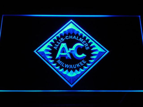 Allis-Chalmers LED Neon Sign - Blue - SafeSpecial