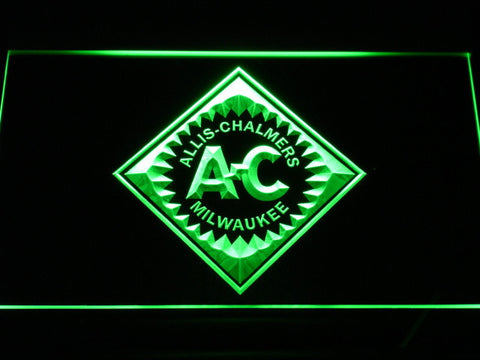 Allis-Chalmers LED Neon Sign - Green - SafeSpecial