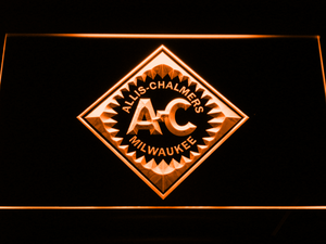 Allis-Chalmers LED Neon Sign - Orange - SafeSpecial