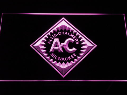 Allis-Chalmers LED Neon Sign - Purple - SafeSpecial