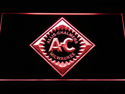 Allis-Chalmers LED Neon Sign - Red - SafeSpecial