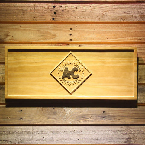 Image of Allis-Chalmers Wooden Sign - Small - SafeSpecial