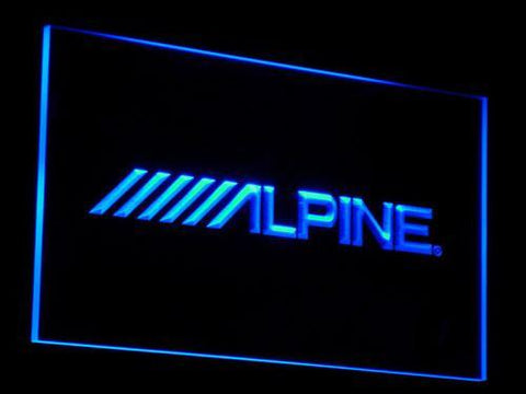 Alpine LED Neon Sign - Blue - SafeSpecial