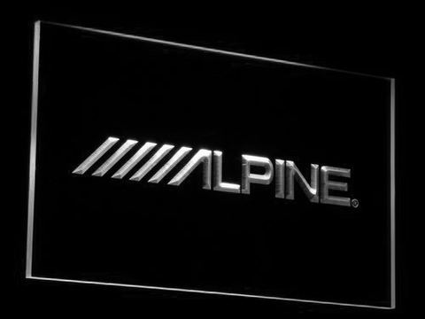 Alpine LED Neon Sign - White - SafeSpecial