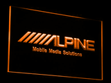 Alpine Mobile Media Solutions LED Neon Sign - Orange - SafeSpecial