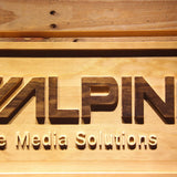 Alpine Mobile Media Solutions Wooden Sign - - SafeSpecial