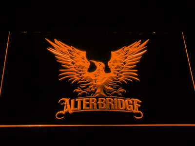 Alter Bridge Eagle LED Neon Sign - Orange - SafeSpecial
