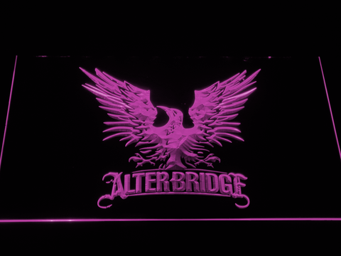 Alter Bridge Eagle LED Neon Sign - Purple - SafeSpecial
