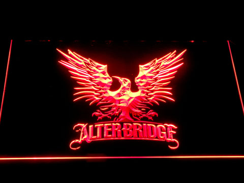 Alter Bridge Eagle LED Neon Sign - Red - SafeSpecial