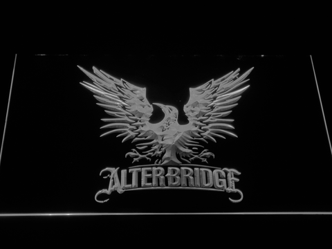 Alter Bridge Eagle LED Neon Sign - White - SafeSpecial